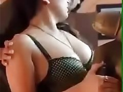Sexy indian bhabi in bra big boobs enjoyed by devar