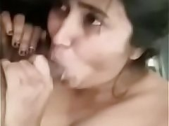 Swathi naidu blowjob and getting fucked by boyfriend on bed